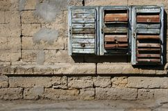 Old posting boxes Royalty Free Stock Images