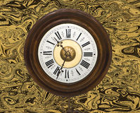 Old postman wall clock Royalty Free Stock Photos