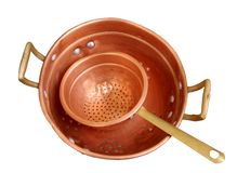 Old pot Stock Image