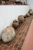 Old pots Stock Photos