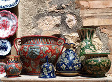 Old pottery Royalty Free Stock Images