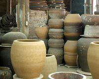 Old Pottery Workshop Royalty Free Stock Images