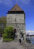 Old powder tower in Konstanz Stock Image