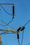 Old power line Stock Photo