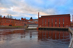 Old power plant Royalty Free Stock Images