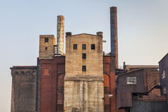 Old power plant building Stock Image