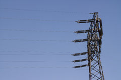 Old Power Pole Royalty Free Stock Images