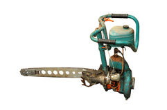 Old power saw Royalty Free Stock Images