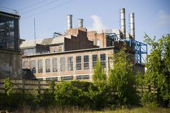 Old power station Royalty Free Stock Images