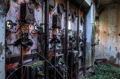 Old power station Stock Image