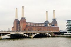 Old Power Station. Battersea Power Station, London, UK royalty free stock photos