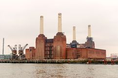 Old Power Station. Battersea Power Station, London, UK royalty free stock images