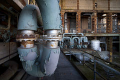 Old powerplant Stock Photo