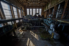 Old powerplant. Old deserted powerplant in belgium stock images