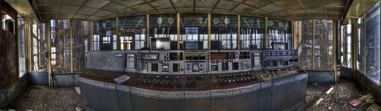 Old powerplant. Old deserted powerplant in belgium royalty free stock photo