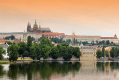 Old Prague. The view on the old Prague Royalty Free Stock Photography
