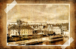 Old Prague stock images