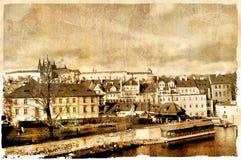 Old Prague stock image