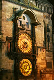 Old Prague astronomical clock Royalty Free Stock Image