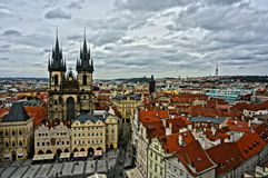 Old Prague City Royalty Free Stock Images