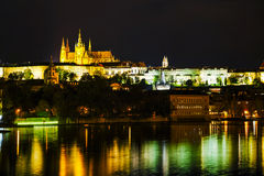 Old Prague cityscape overview Royalty Free Stock Image