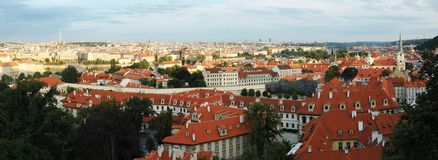 Old Prague cityscape  - unesco heritage site Royalty Free Stock Photography