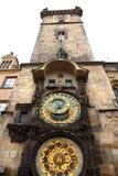 Old Prague clock tower Royalty Free Stock Photos