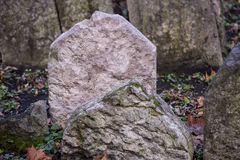 Old Prague Jewish cemetery Royalty Free Stock Photography