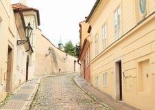 Old Prague lane Stock Image