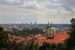 Old Prague panorama Royalty Free Stock Photo