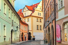 Old Prague typical view. Royalty Free Stock Photo