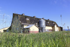 An Old Prairie Barn Stock Images