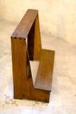 Old prayer bench Stock Photo