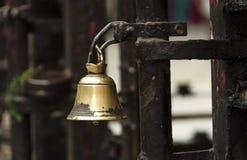 Old prayerful little bell. Kathmandu. Nepal Stock Images