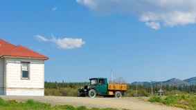 An old, preserved truck in northern canada Royalty Free Stock Photos