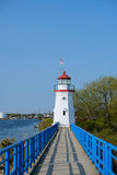 Old Presque Isle Lighthouse, built in 1884 Royalty Free Stock Photography