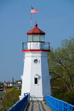 Old Presque Isle Lighthouse, built in 1884 Stock Images