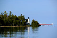 Old Presque Isle Lighthouse, built in 1840 Stock Photography