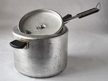 Old pressure cooker Stock Images