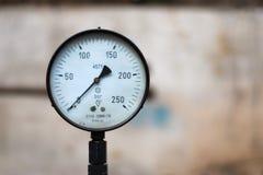 Old pressure gauge Royalty Free Stock Photos