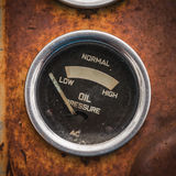 Old pressure gauge Royalty Free Stock Photography