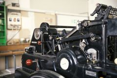 Free Old Printing Machine Royalty Free Stock Images - 105448689