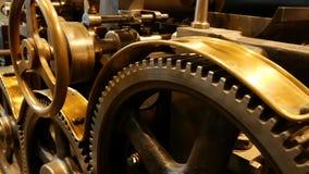 Old printing press - rotary press
