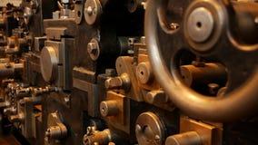 Old printing press - Offset printing principle