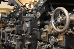 Old printing press Royalty Free Stock Image