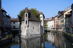 Old prison of Annecy Royalty Free Stock Photos