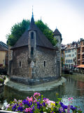Old prison in Annecy Royalty Free Stock Photography