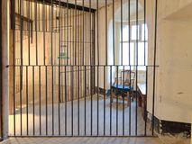 Free Old Prison Cell In Oxford Castle Prison, Oxford, England Royalty Free Stock Image - 104697786