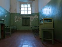 Old prison cell Stock Photography