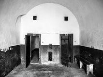 Old prison cells Stock Photography